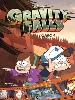 cover image of Gravity Falls. Cómic 4