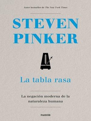 cover image of La tabla rasa