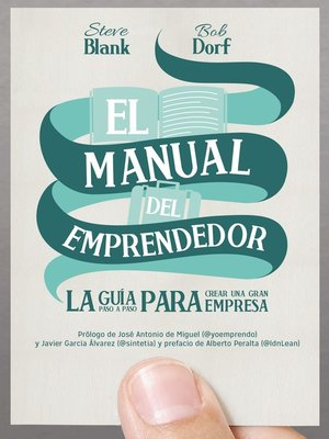 cover image of El manual del emprendedor
