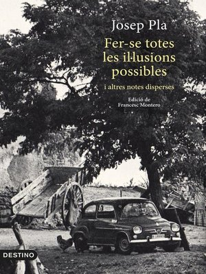 cover image of Fer-se totes les il·lusions possibles