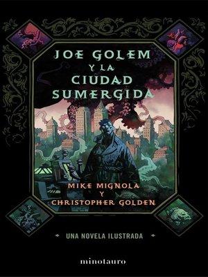 cover image of Joe Golem y la ciudad sumergida