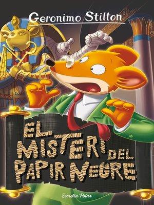 cover image of El misteri del papir negre