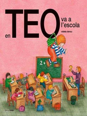 cover image of En Teo va a l'escola (Edició de 1978)