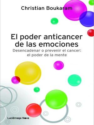 cover image of El poder anticancer de las emociones