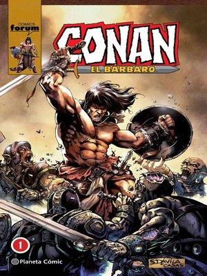 cover image of Conan El bárbaro (Integral) nº 01/10