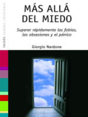 cover image of Más allá del miedo