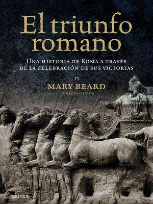 cover image of El triunfo romano