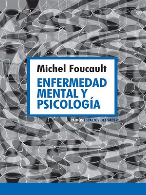 cover image of Enfermedad mental y psicología