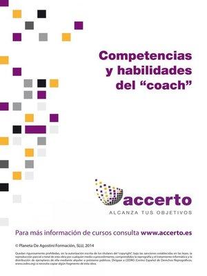 """cover image of Competencias y habilidades del """"coach"""""""