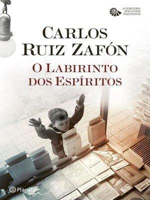 cover image of O Labirinto dos Espíritos