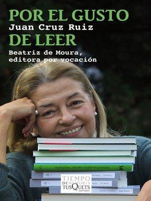 cover image of Beatriz de Moura, editora por vocación