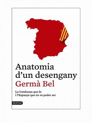 cover image of Anatomia d'un desengany