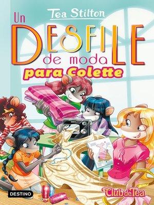 cover image of Un desfile de moda para Colette