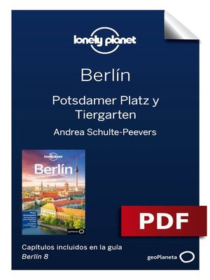 cover image of Berlín 8. Potsdamer Platz y Tiergarten