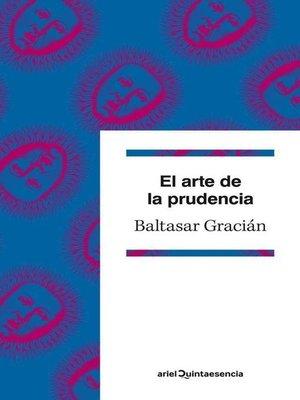 cover image of El arte de la prudencia