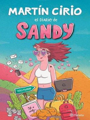 cover image of El diario de Sandy