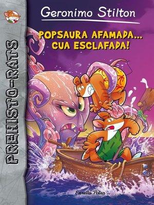 cover image of Popsaura afamada... cua esclafada!