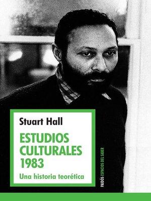 cover image of Estudios culturales 1983