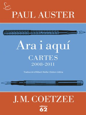 cover image of Ara i aquí. Cartes 2008-2011