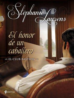 cover image of El club Bastion. El honor de un caballero