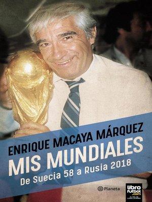 cover image of Mis mundiales