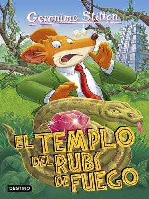 cover image of El Templo del Rubí de Fuego