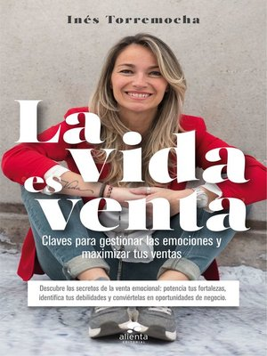 cover image of La vida es venta