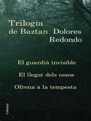 cover image of Trilogia de Baztan (pack)