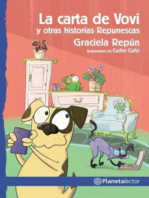 cover image of La carta de Vovi y otras historias Repunescas