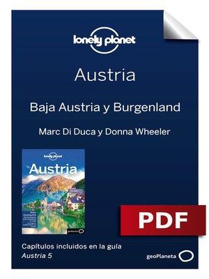 cover image of Austria 5. Baja Austria y Burgenland