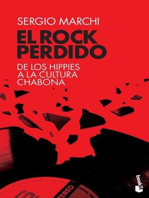 cover image of El rock perdido