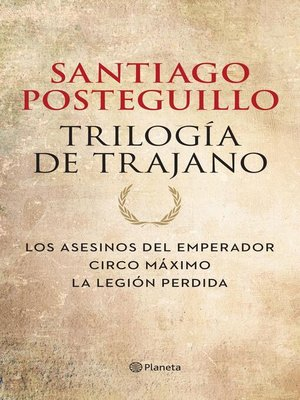 cover image of Trilogía de Trajano (pack)