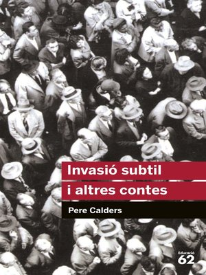 cover image of Invasió subtil i altres contes