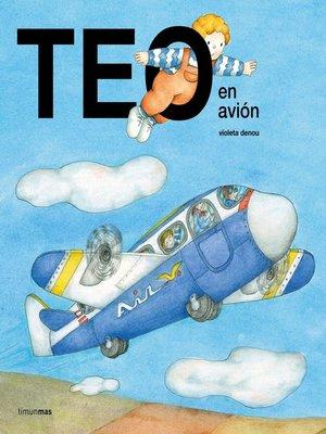 cover image of Teo en avión