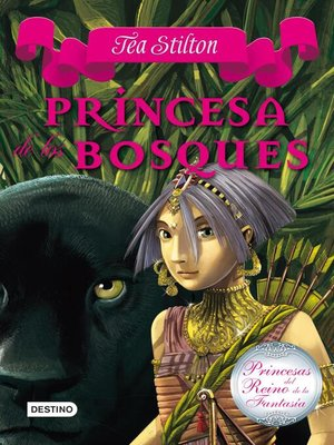cover image of Princesa de los bosques