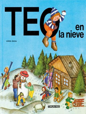 cover image of Teo en la nieve