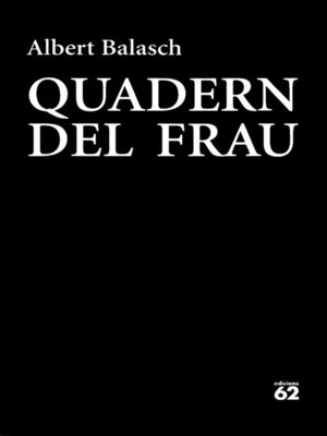 cover image of Quadern del frau