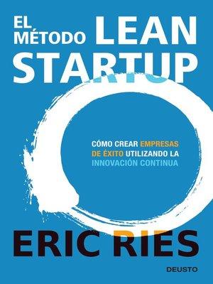 cover image of El método Lean Startup