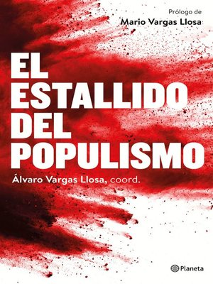 cover image of El estallido del populismo