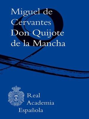cover image of Don Quijote de la Mancha (Adobe PDF)