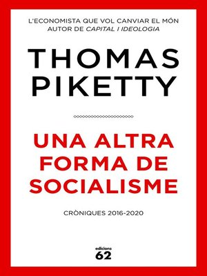 cover image of Una altra forma de socialisme