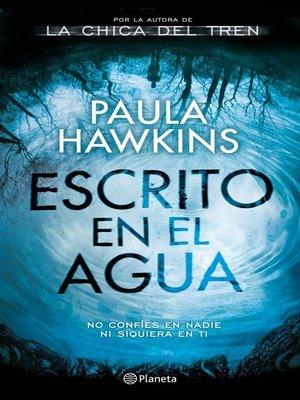 cover image of Escrito en el agua