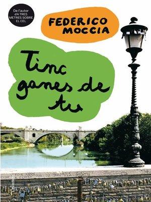 cover image of Tinc ganes de tu