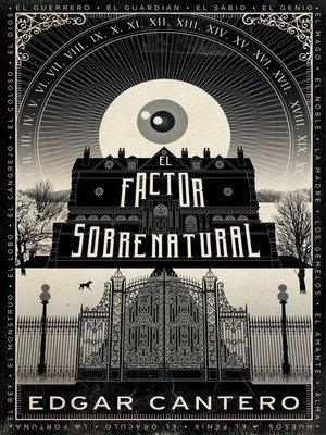 cover image of El factor sobrenatural