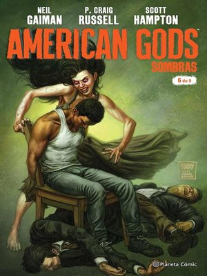 cover image of American Gods Sombras nº 06/09