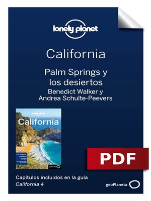 cover image of California 4_11. Palm Springs y los desiertos