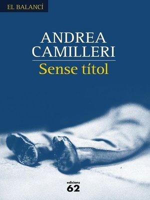 cover image of Sense títol