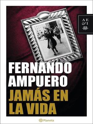 cover image of Jamás en la vida