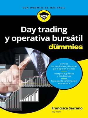 cover image of Day trading y operativa bursátil para Dummies