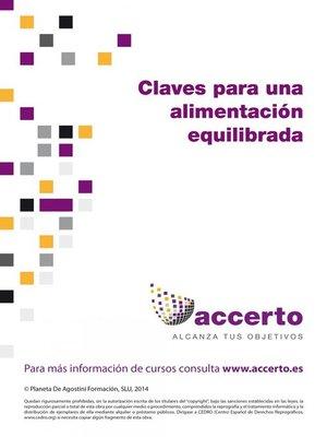 cover image of Claves para una alimentación equilibrada